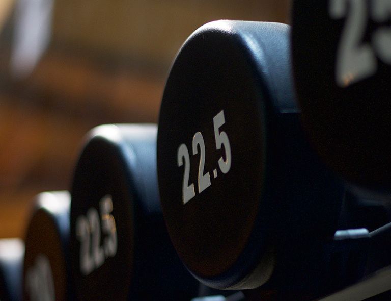 Weights room